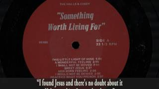 """♫ """"A Wonderful Feeling"""" performed by The Halls & Cindy"""
