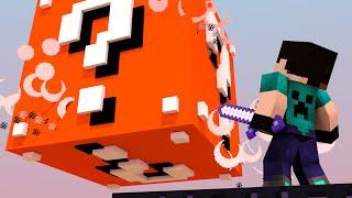 Minecraft - CUBÃO LUCKY BLOCK MOD! - MINI GAME PVP!