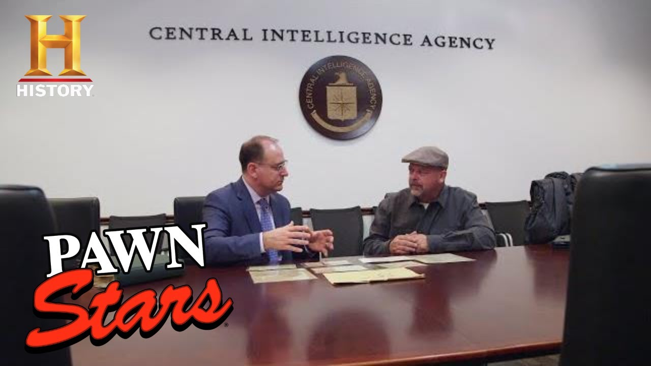 Pawn Stars: Secret WWII Spy Documents Uncovered (Season 17) | History