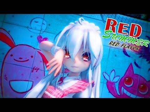 🍓🍍🍉Red Velvet 레드벨벳 '빨간 맛 (Red Flavor)' Lyrics + Animation (MMD🍏)