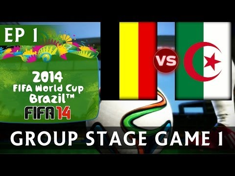 [TTB] 2014 FIFA World Cup Brazil - Belgium Vs Algeria - Group Stage Game 1 - EP1