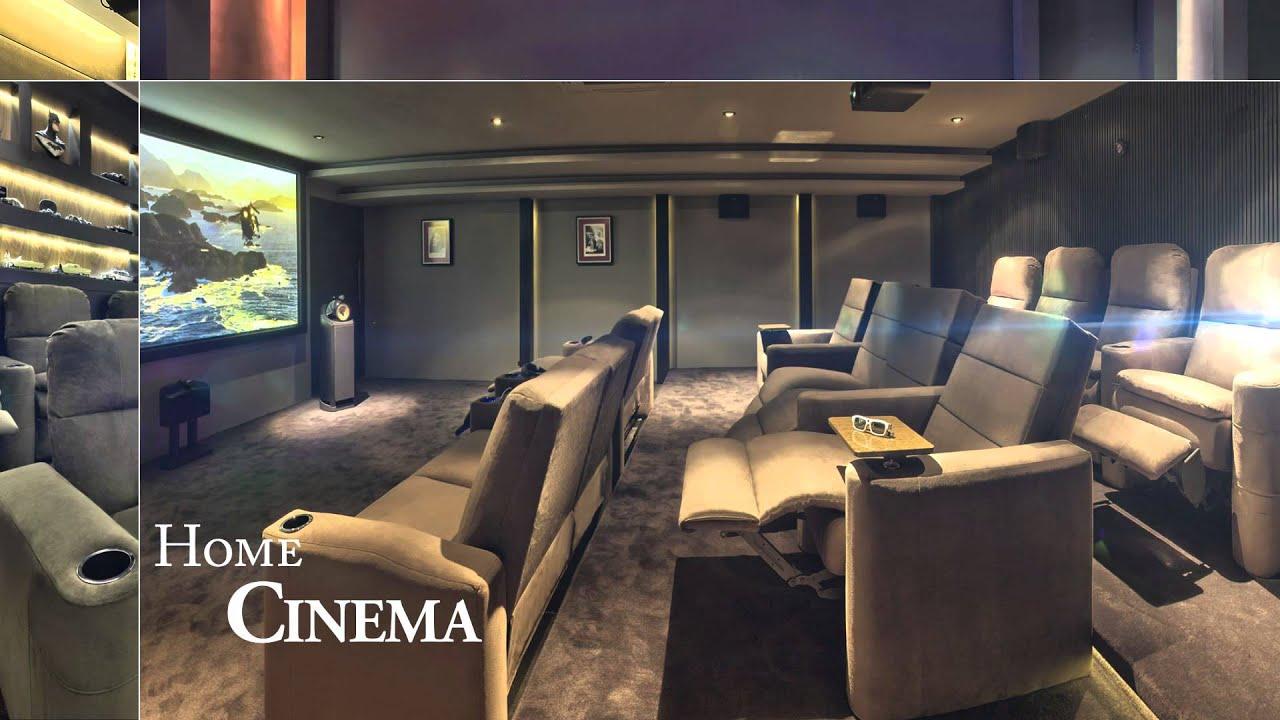 Casa de cinema home de cinema youtube - Realizzare sala cinema in casa ...