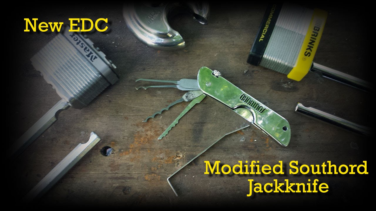 dda05ccb5d New EDC  Modified Southord Jackknife - YouTube
