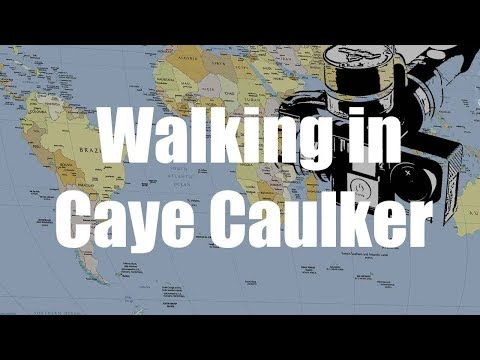 Walking in Caye Caulker, Belize | GoPro 4 Silver  | Virtual Trip