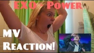 Video EXO/엑소 - Power MV Reaction - Hannah May download MP3, 3GP, MP4, WEBM, AVI, FLV Mei 2018
