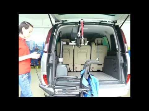 Ausili guida disabili – Gruetta Auto-Adapt Carolift modello 6000/6900 – OFFICINA Centro IRIS SRL