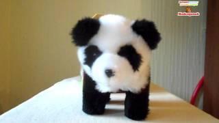 Видеообзор: Мягкая Интерактивная игрушка Панда, JAMINA, 502-12