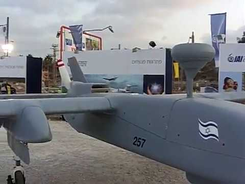 Machatz 1 - Heron UAV, Alt-30Kft, T-40hr, Automatic take-off /landing by IAI, Israel Military Weapon Technology 2008 -32