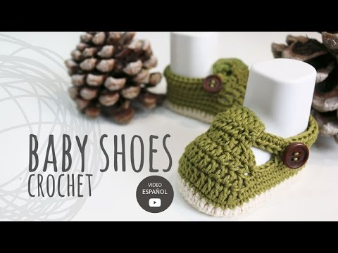 How To Crochet Cute and Easy Baby Booties Croby Patterns ...