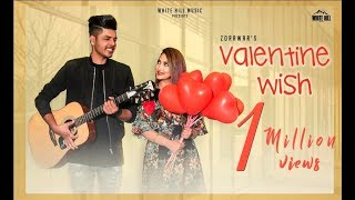 Valentine Wish(Full Video) Zorawar-Sameer Pannu- Cheetah -New Punjabi Songs 2018-Latest Punjabi Song
