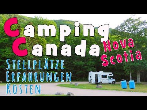 CAMPING CANADA   Stellplätze, Erfahrungen, Kosten in Nova Scotia