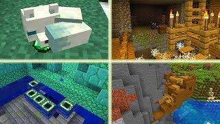 Mega RZADKIE Rzeczy w Minecraft! Horda Zombie! 4 Chatki Wiedźmy!