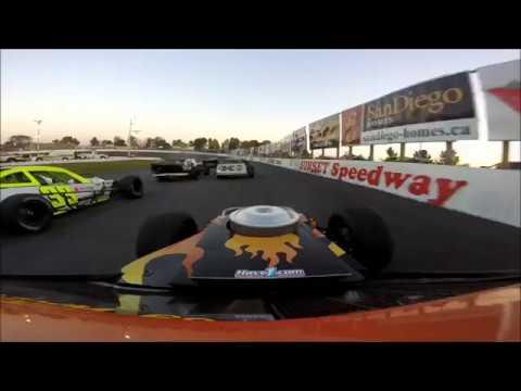 OSCAAR Modified Heat 2 @ Sunset Speedway September 23 2017
