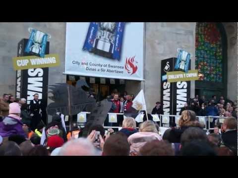 Swansea City FC Parade 2013