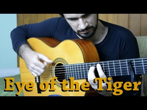 Eye of the Tiger (Rocky III) - Fingerstyle Guitar (Marcos Kaiser) #99