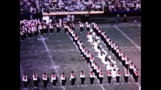 Queen Elizabeth visits the UNC vs. UM football game 1957