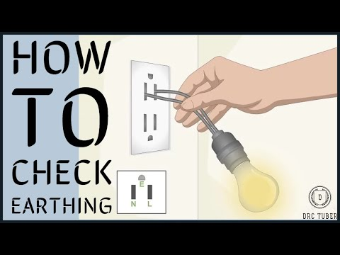 How To Check Earthing Using Led Bulb (Easy And Simple)