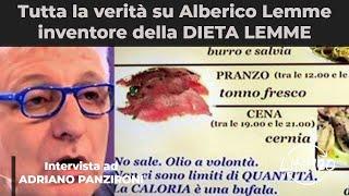 Alberico Lemme inventore della DIETA LEMME, genio o truffatore