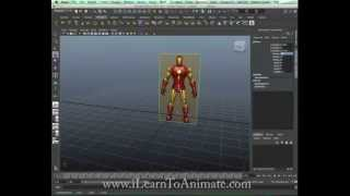 Reference Image 3D Modeling with Maya