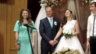Сумская свадьба в Филармонии. Старший переволновался очень)))