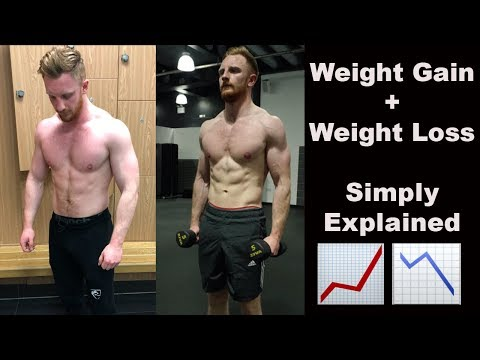 WEIGHT GAIN + WEIGHT LOSS SIMPLY EXPLAINED!