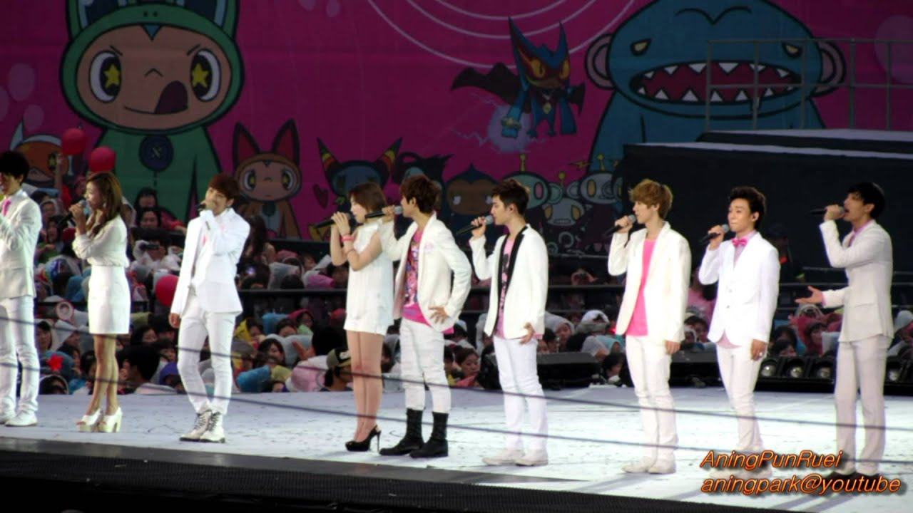 SMTOWN – Dear My Family (Live ... - Color Coded …