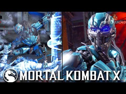 """PLAYING CYBER SUB-ZERO FOR THE FIRST TIME IN A WHILE - Mortal Kombat X: """"Cyber Sub-Zero"""" Gameplay"""