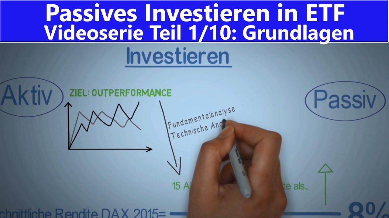 110 Etf Und Indexfonds Für Anfänger Passiv Investieren Lernen