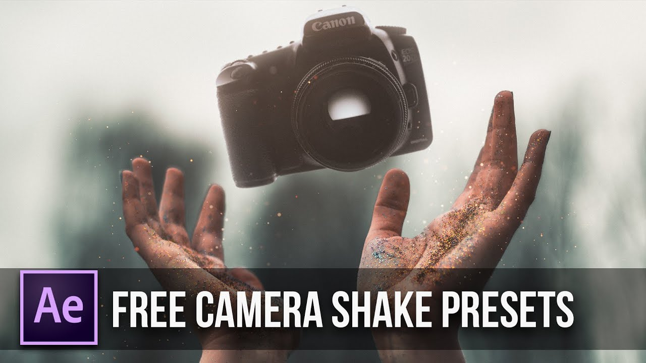 Add Camera Shake To Your Video | Free Presets | After Effects Tutorial