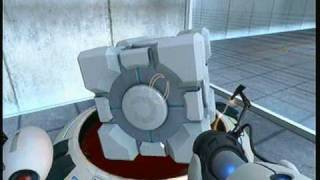 Gameplay - Portal (Orange Box - Xbox 360)