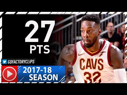 Jeff Green Full Highlights vs Rockets (2017.11.09) - 27 Pts off the bench!