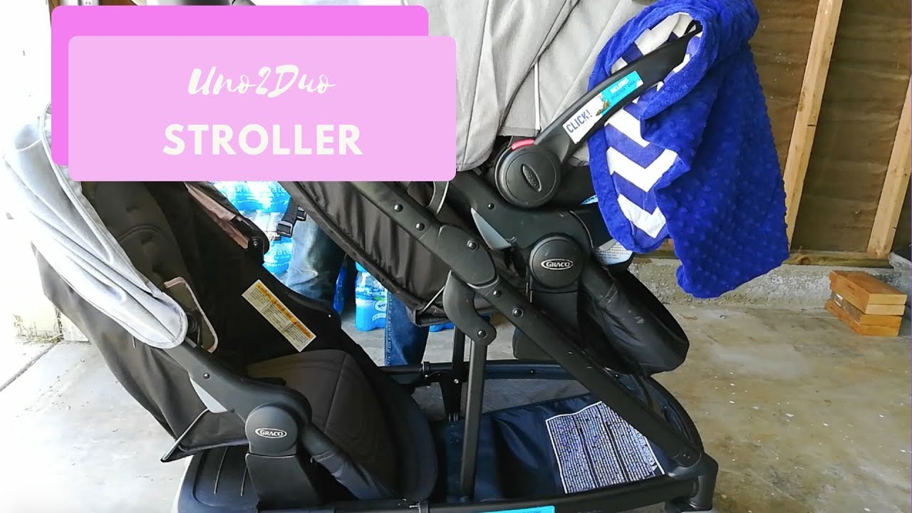 Uno2duo Stroller Graco Uno2duo Travel System Youtube