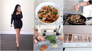 COOK & EAT WITH ME + PR Packages & More