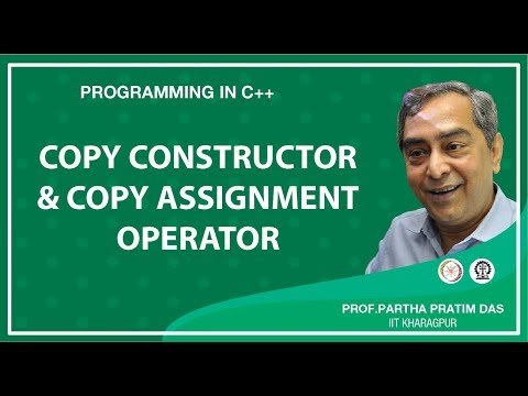 Copy Constructor and Copy Assignment Operator