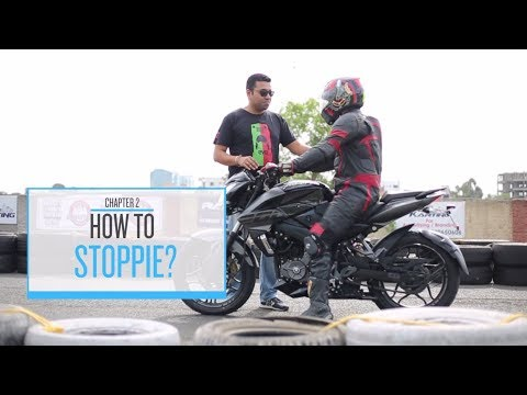 Pulsar Mania ABC Of Stunting #Part2: How To Do A Stoppie