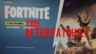 Fortnite Save the World for Free Glitch (After Patch 5.1)