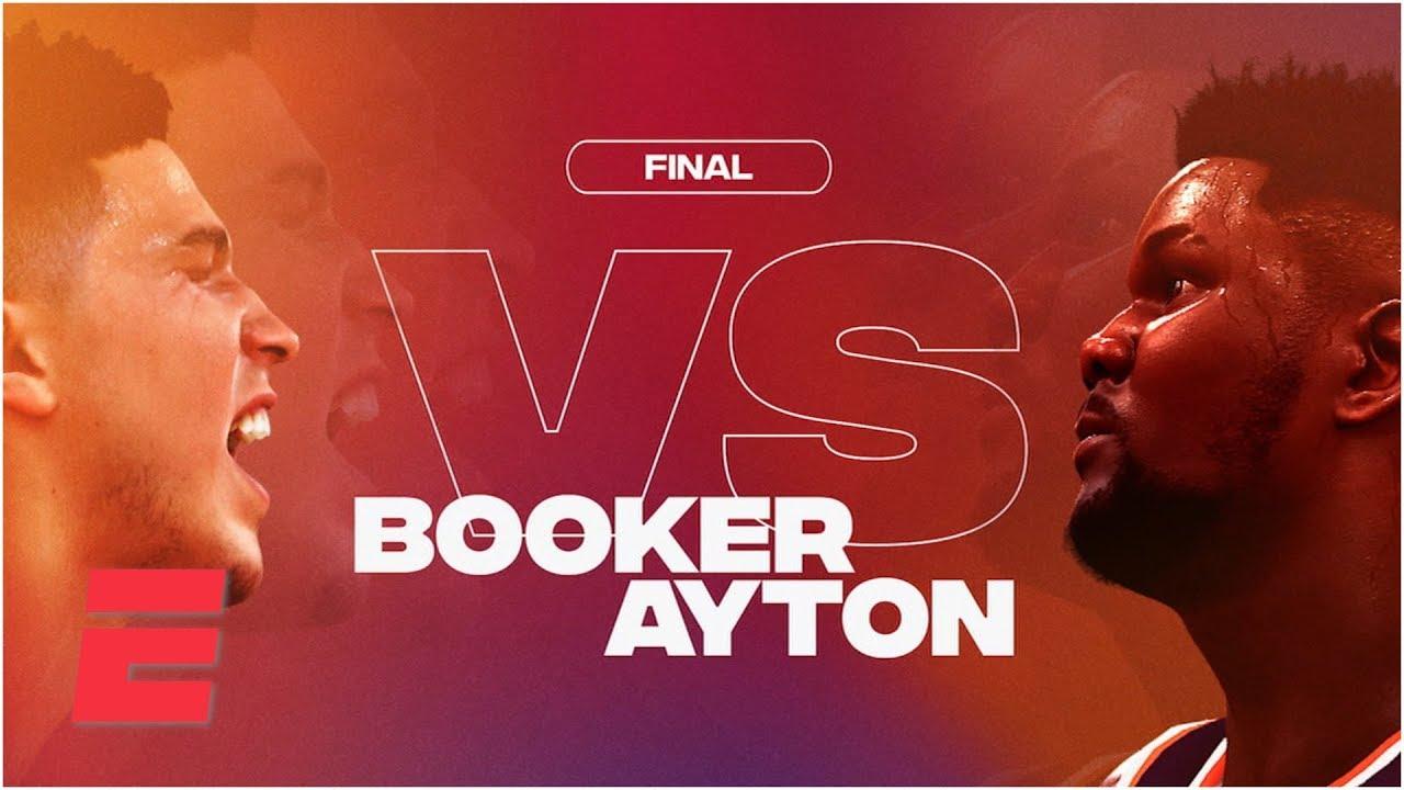 NBA 2K Players Tournament Highlights: Devin Booker vs. Deandre Ayton