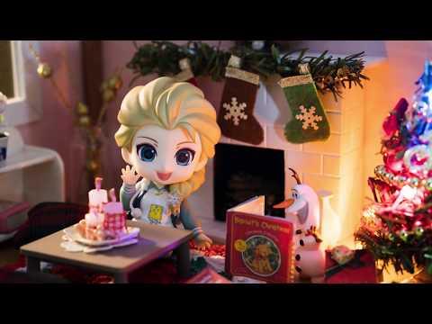 DIY Dollhouse Miniature Christmas Room - Diorama