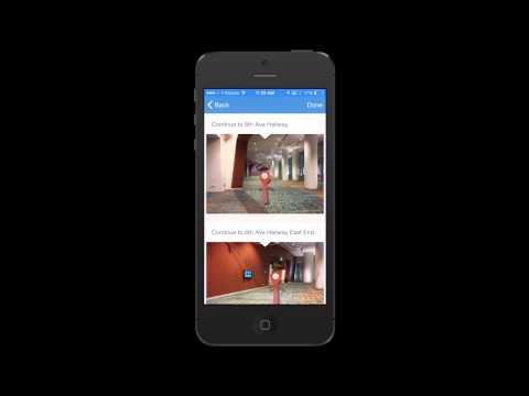 Music City Center Wayfinding App