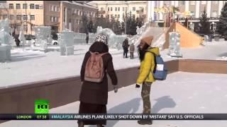 Журналист Russia today в Улан Удэ