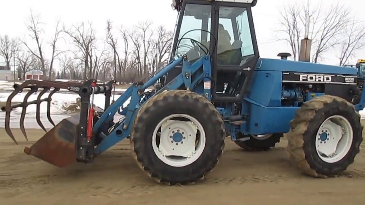 Ford Bi Directional Tractor : Ford versatile bi directional tractor youtube