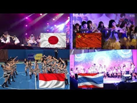 AKB48 JAPAN, SNH48 CHINA, JKT48 INDONESIA, BNK48 THAILAND KOISURU FORTUNE COOKIE