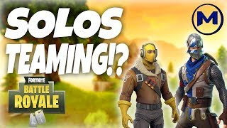 ARE THEY CHEATING?!? (Fortnite: Battle Royale)