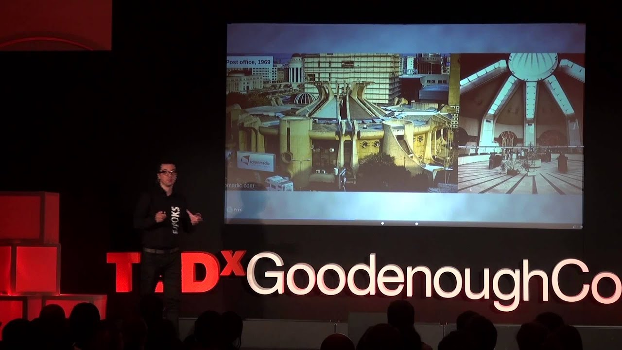 rewinding architecture dragan krstevski tedxgoodenoughcollege youtube. Black Bedroom Furniture Sets. Home Design Ideas