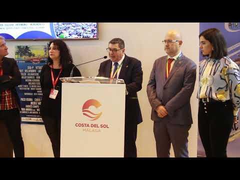 Presentación de Vélez-Málaga en Fitur 2019. Habla del alcalde, Antonio Moreno Ferrer