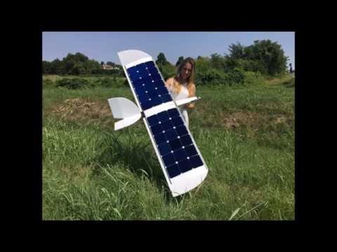 Pure solar flight