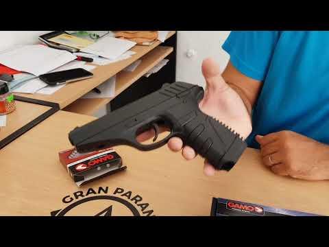 Pistola Gamo P25 Blowback- Funcionamiento y Descripción