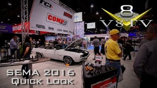 SEMA 2016 Quick Look V8TV