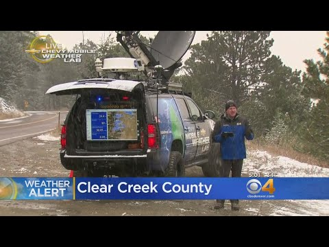 Mobile Weather Lab Tracks Snow