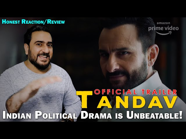 Pakistani Reacts to Tandav - Official Trailer | Tandav REVIEW |  Saif Ali Khan | IAmFawad